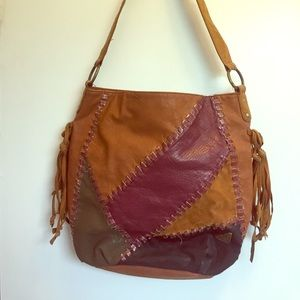 Roxy leather purse